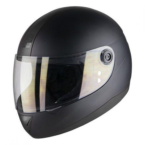 Mũ bảo hiểm nguyên đầu màu đen