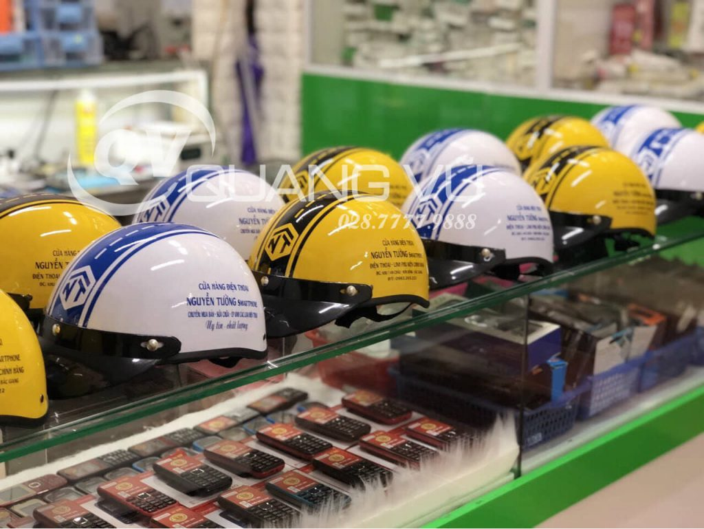 Đặt mũ nón bảo hiểm số lượng lớn