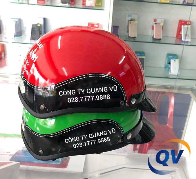 Công ty Quang Vũ phân phối mũ bảo hiểm