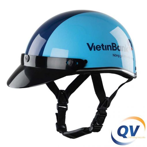 Mũ bảo hiểm in logo Vietinbank
