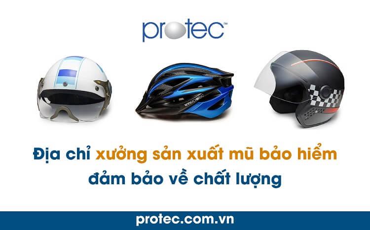 Công ty sản xuất nón bảo hiểm An Giang