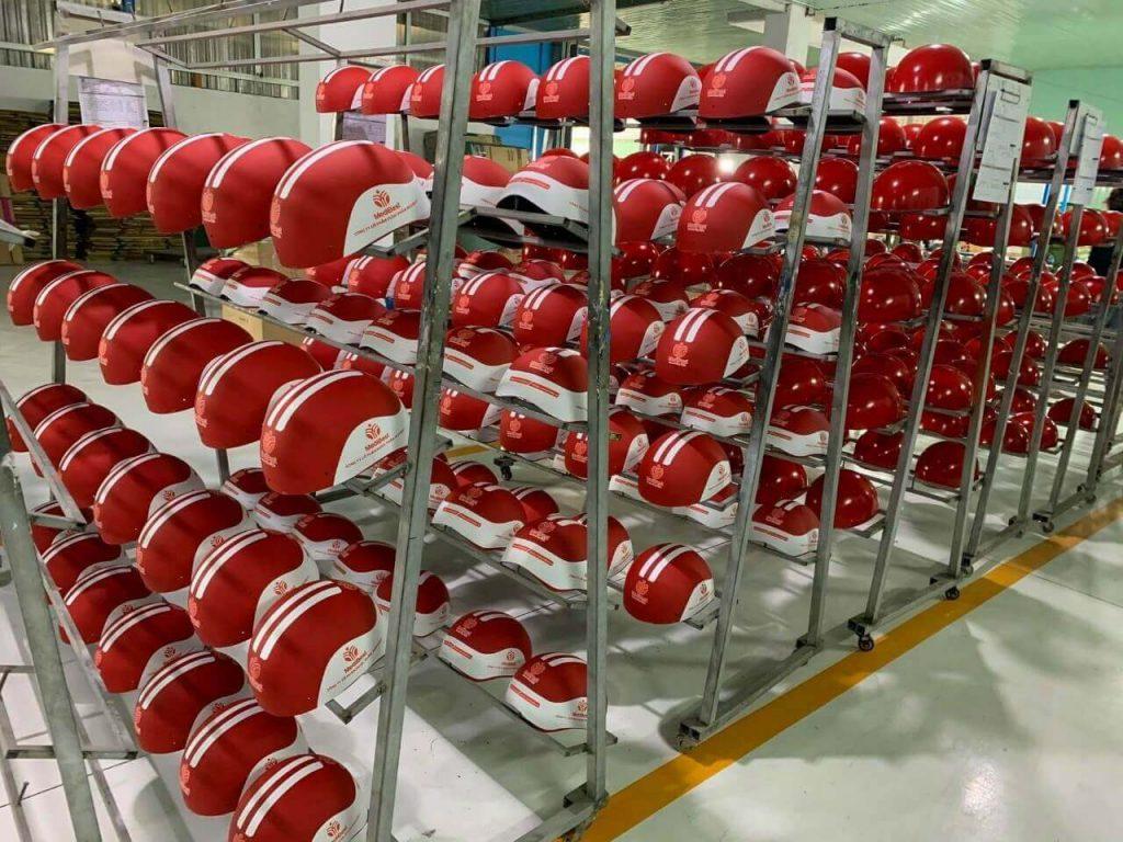 sản xuất mũ bảo hiểm Bà Rịa Vũng Tàu