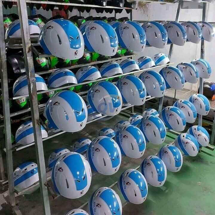 sản xuất nón bảo hiểm Bắc Giang