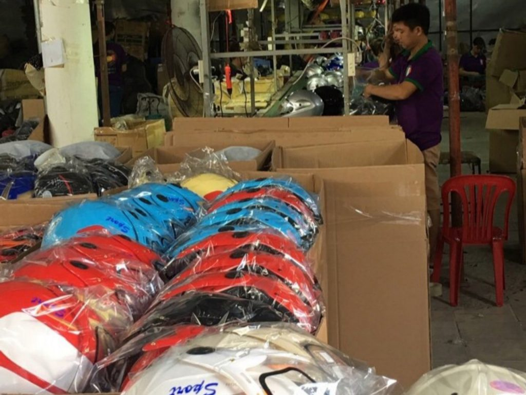 sản xuất nón bảo hiểm tại Bắc Kạn
