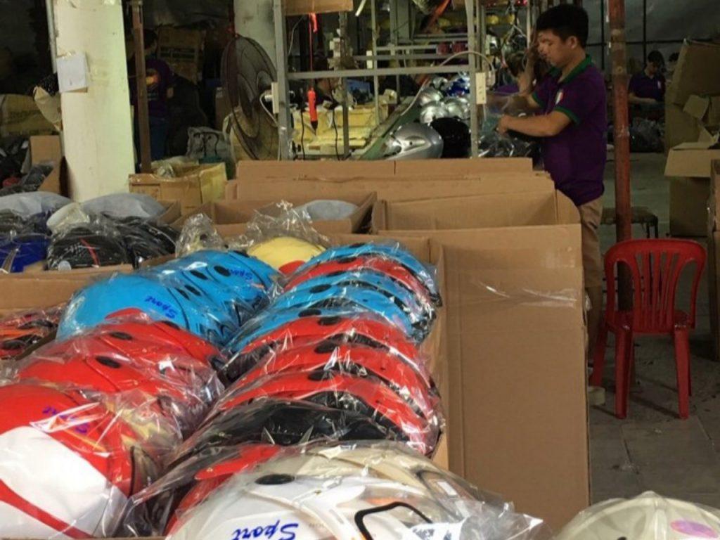 sản xuất nón bảo hiểm giá rẻ tại Bắc Ninh